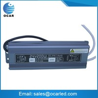 24V 200w Switching waterproof power supply LED switching supply