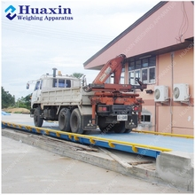 Mobile Truck Scale/ Wheel Moveable Truckscale / Industrial Weighbridge Price