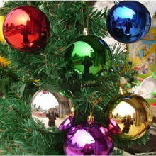 Plastic Material and Christmas Occasion peal colorful ball