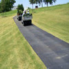 HDPE ground protection black plastic outdoor mat