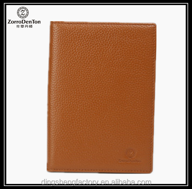 Hot selling for 2015 Promotion Custom Small Leather Clutches Long Passport Holder produce with your own logo