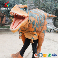 Life Size High Realistic Dinosaur Costume For Sale