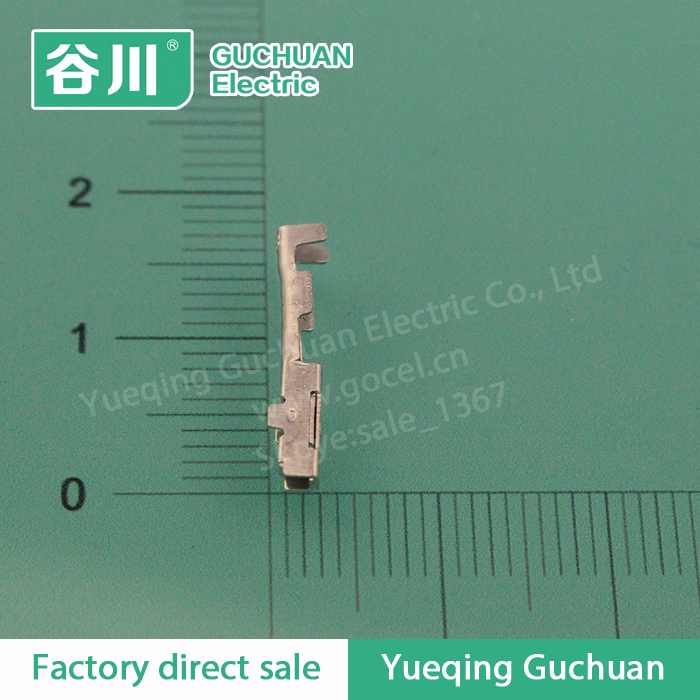 DJ621-1.2A brass electrical connector,copper crimp terminal