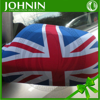 Customized new national flag printting UK sock car side mirror cover