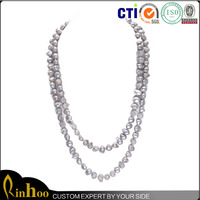 China Factory Premium Natural Pearl Necklace For Womens Design, Top Sale Fashion Pearl Necklace Set
