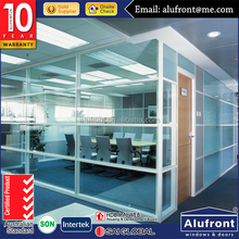 aluminium office door and interior door Office Partitioning System Glass partitions