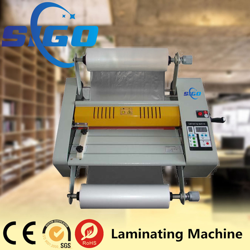 High Precision Roll cold laminator 380