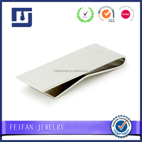 Wholesale custom logo metal blank money clip