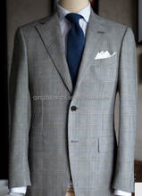 OEM manufacturer men high quality suits front neck design of suits