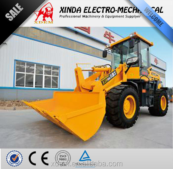 China cheap 2 ton Mini Load XJN928 Wheel Loader