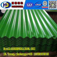 Popular/high corrugated steel roofing sheet---corrugated metal roof tile
