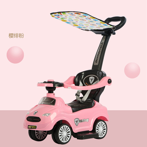 Lovely cheap price plastic 4 wheel scooter baby twister toy car kids ride on car