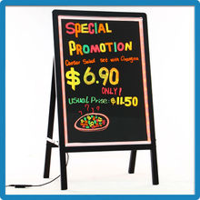 New China products for sale zhengdian company v18 model led dry erase stand up advertising board