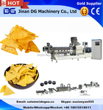 Automatic baked/fried corn tortilla chips production machinery/processing line