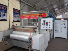 lldpe strecth film making machine cast pe stretch film production line