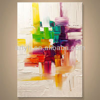 Newest Handmade Fashion Abstract Art Painting For Decor In Discount Price