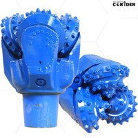 deep hard rock water well TCI drilling bits/ TCI tricone drill bits/ high quality TCI tricone rock bits for drilling