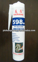 598 RTV silicone sealant for sealing combustion engine