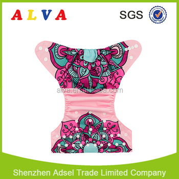 Alva Free Shipping Best Pocket Cloth Diaper Baby Cloth Nappies