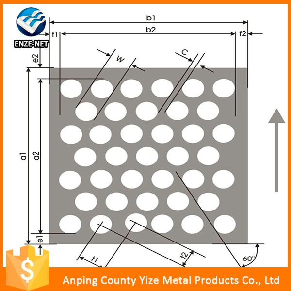 2016 hot sale product cheap rust proof perforated metal mesh