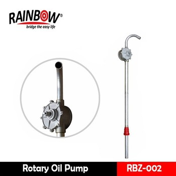 Aluminum Hand Rotary Gas Oil Fuel Pump Manufacturers in China