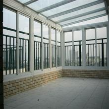 Aluminum outdoor winter garden glass sun room from China factory