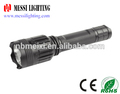 NEW ARRIVAL factory wholesales in ningbo zhejiang Aluminum rechargeable T6 Hig-low-Flash flashlight
