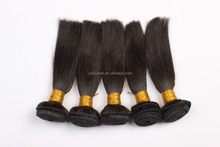 perfect 100% RAW Unprocessed straight wave Brazil Natural Straight Virgin Remy Human Hair Extensions