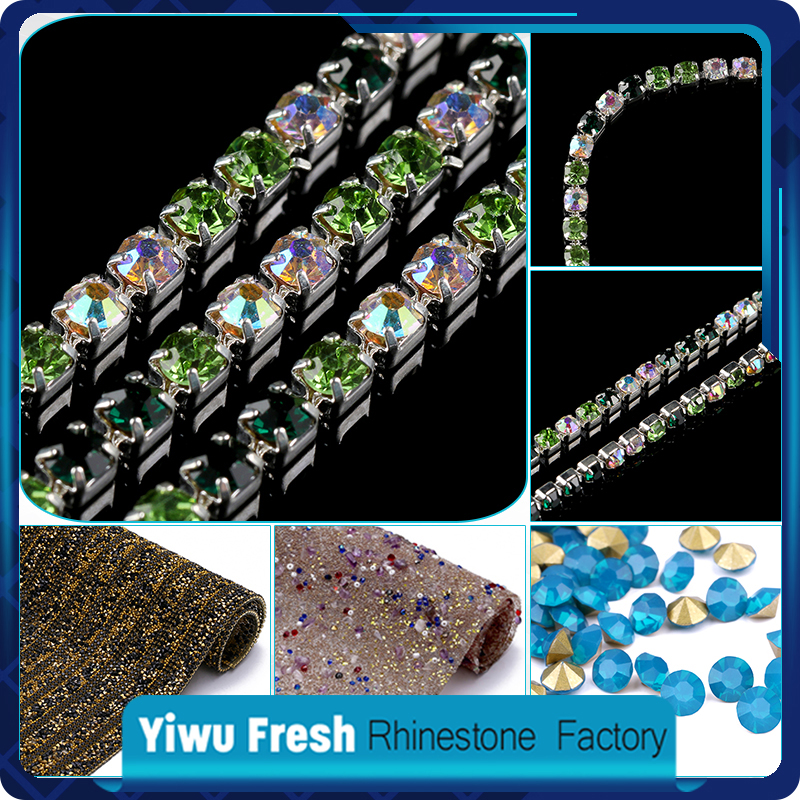 SS39 best quality 888 crystal rhinestone claw chain,crystal cup chain stones