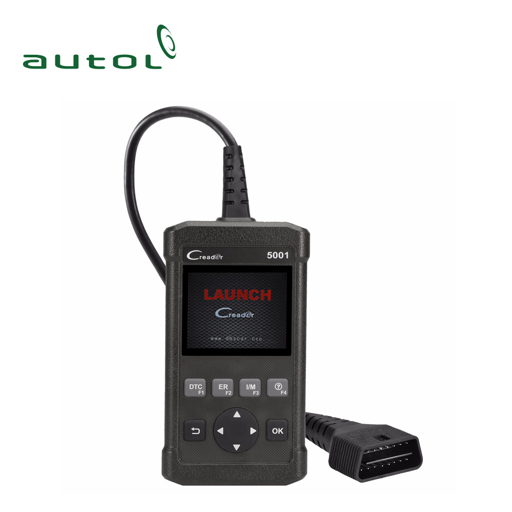 Original Launch CR5001 OBDII/EOBD Fault Code Reader Support O2 Sensor Test, On-board Monitor Test Auto Code Scan Tool