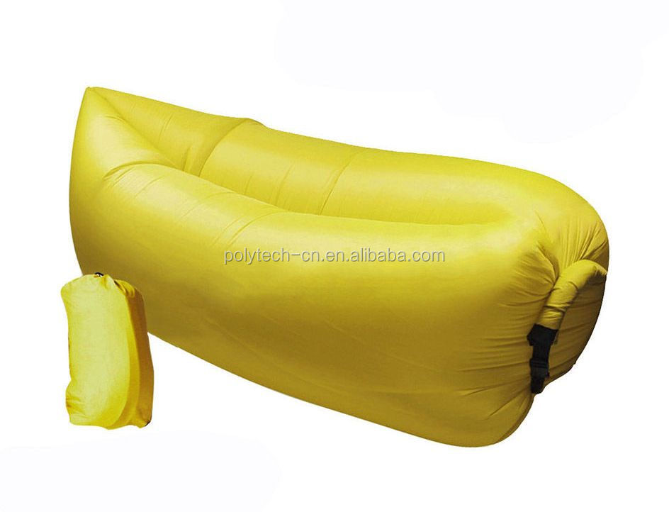 Inflatable Lounger Air Sleeping Bag, Sleeping Sofa Bed.