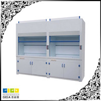 Acid resistance portable fume hood for student use