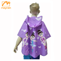 kid's poncho rain coat water proof