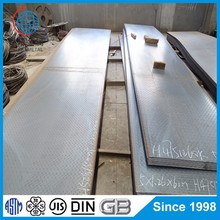 JIS G3101 SS400 Carbon steel standard steel checkered plate sizes
