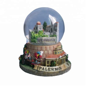 Wholesale customize europe style italy souvenirs snow balls
