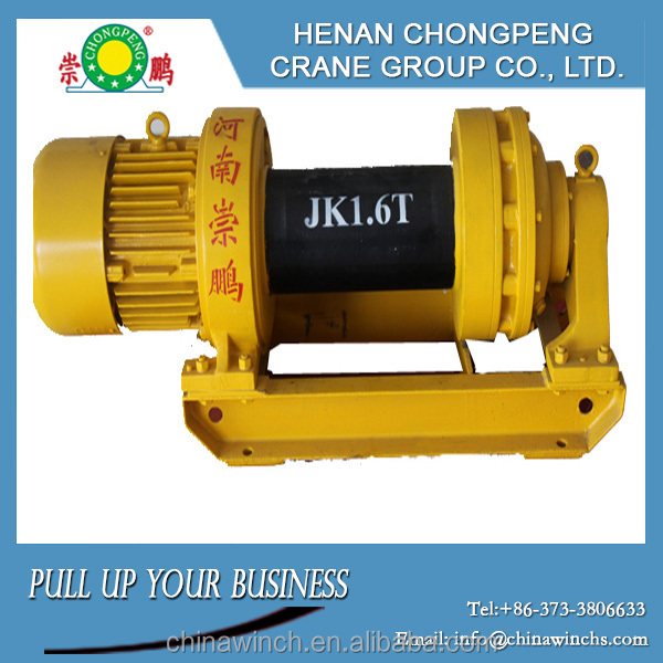 JK-D construction electric winch, Small Hoist