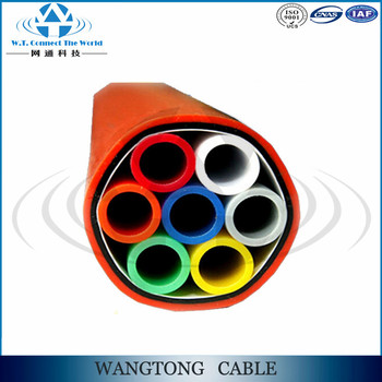 HDPE underground cable pipe direct buried micro duct