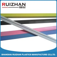 furniture pvc plastic wood grain laminated edge trim strips