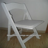 Wholesale white banquet folding chair