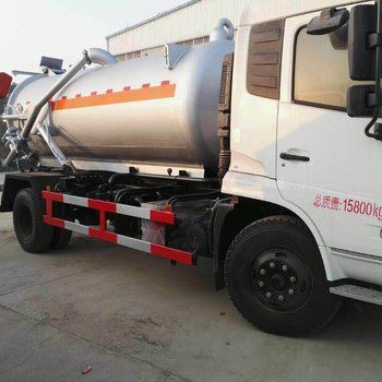 10000L HOWO waste disposal vacuum sewage suction truck for sale