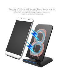 Fast Charging Qi Wireless Charger Instant Mobile Phone Charger