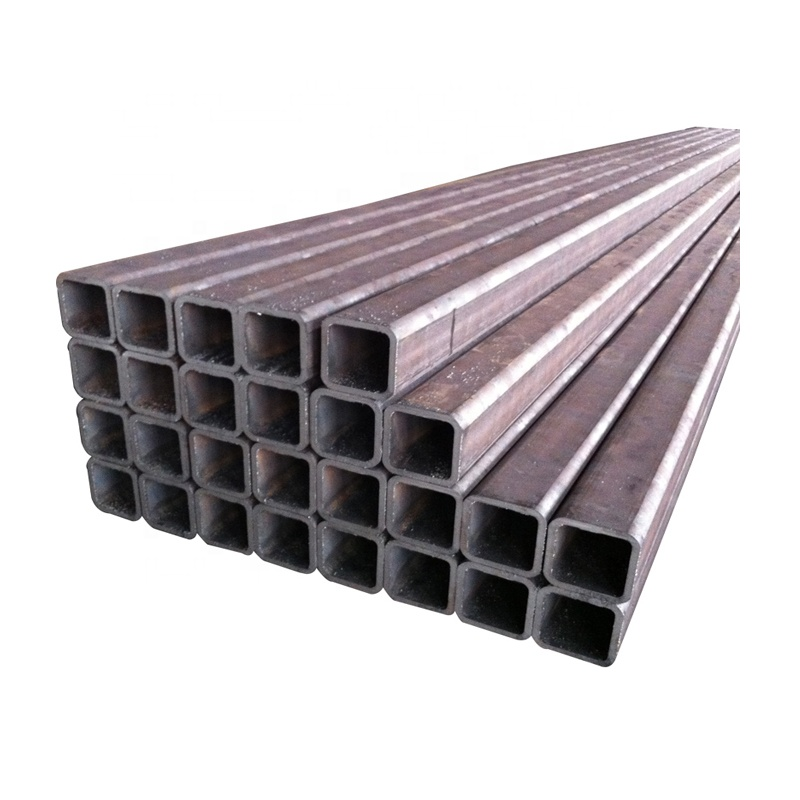 <strong>Trade</strong> assurance supplier black welded steel square tube seamless cold rolled steel tube