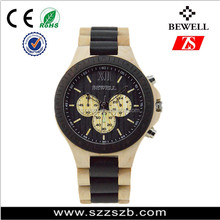 New arrival original design natural color pure time wholesale wood custom brand watch men watch 2017