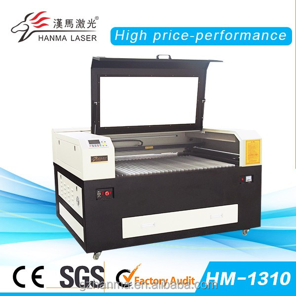 HM-1310 CNC CO2 Leather Laser Cutting Machine/good after-sales service