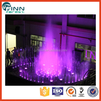 Outdoor pool use fountain seagull effect modern water fountain