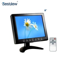 High resolution 1024*768 2016 8 inch touch screen led lcd monitor 4:3