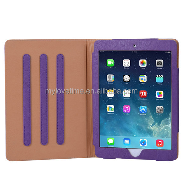 wholesale factory supply smart cover case for iPad 5