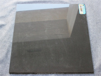 floor tile popular in England industry material doulble loading black color rustic tiles