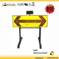 SS02 Flashing in 4Ways Arrow Safety Sign Board