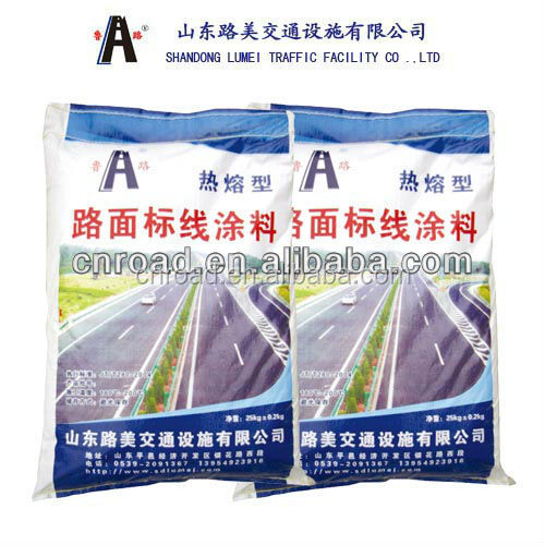 reflective hot melt thermoplastic road marking material for sale